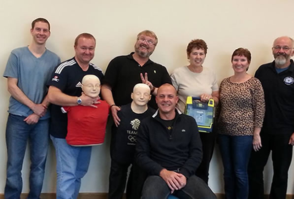 First Aid Training Gallery